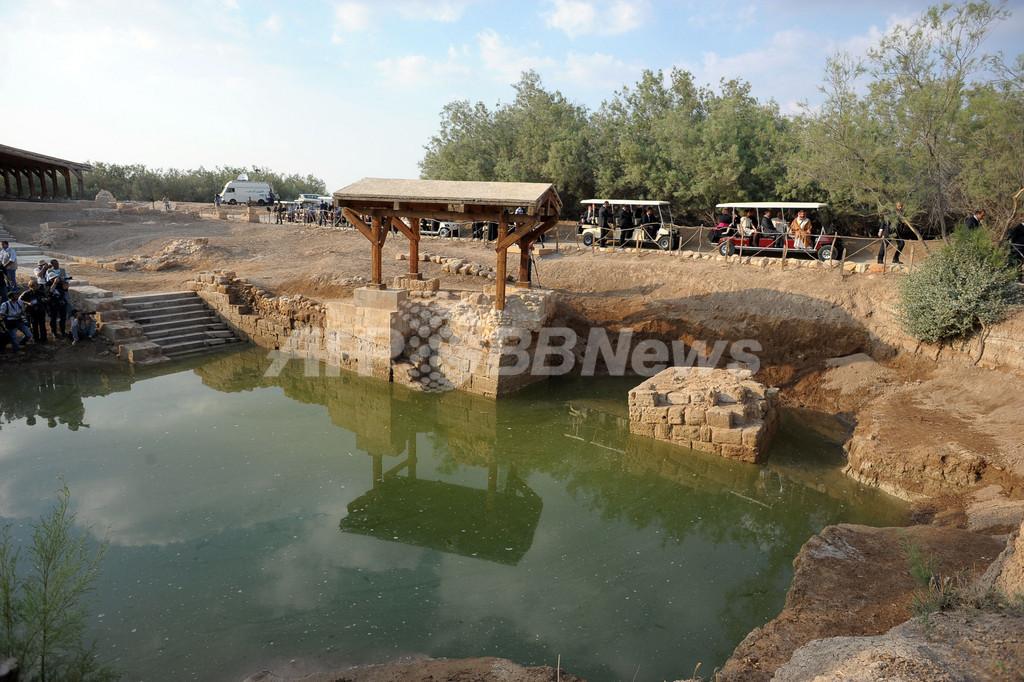 キリスト洗礼の聖地、「神聖」にほど遠い水質に悩む巡礼者