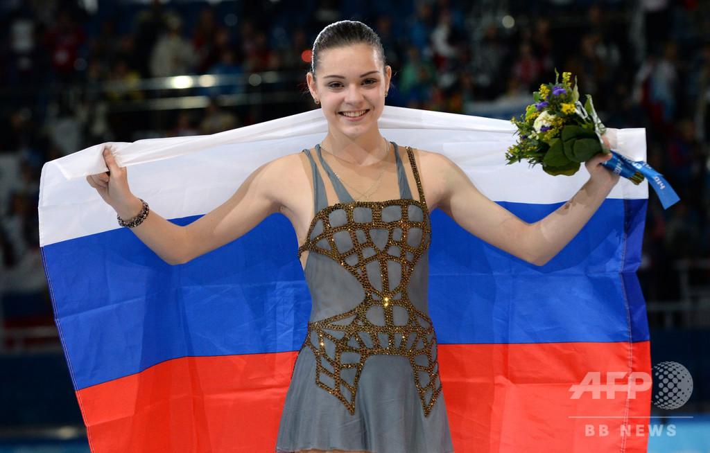 ソチ金のソトニコワが引退、故障から復帰かなわず フィギュア女子