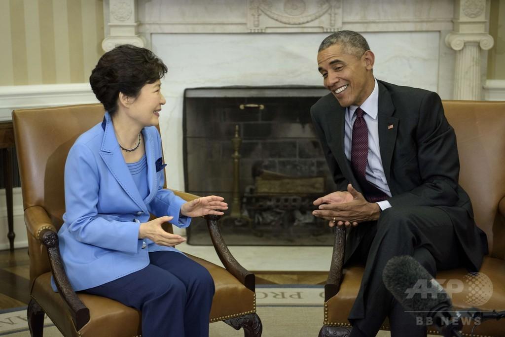 オバマ米大統領、北朝鮮が核放棄すれば「対話」の準備あり