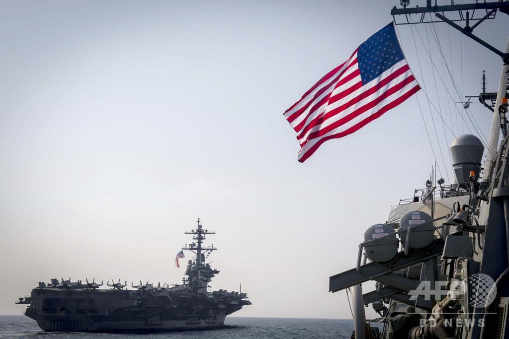 米韓合同軍事演習、「再開の必要なし」 米国防長官代行