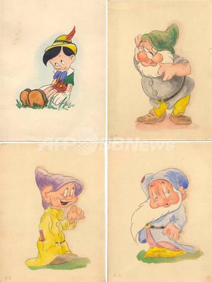 ヒトラー直筆の水彩画か?ディズニー・キャラクターの絵見つかる