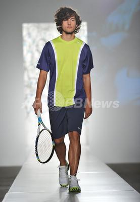 「ウィルソン」、NYで新作テニスウェアのファッションショー