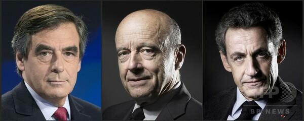 サルコジ氏、仏大統領選レースから脱落 右派陣営2元首相が決戦に