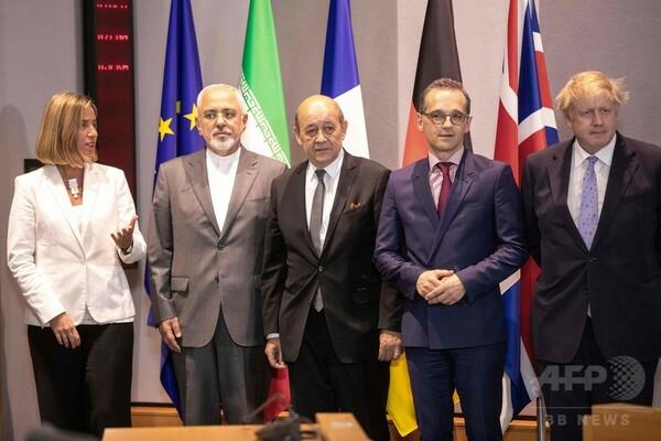 イラン、核合意で欧州側と外相会合 EU「数週間で具体的提案」