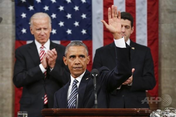 オバマ大統領、最後の一般教書演説 「変化」受容を呼び掛け