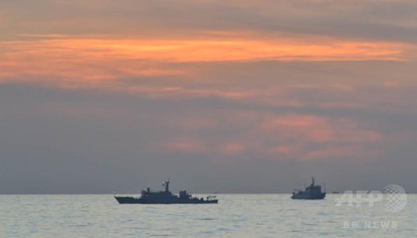 「中国が南シナ海で人工島建設を準備」フィリピンが写真公開