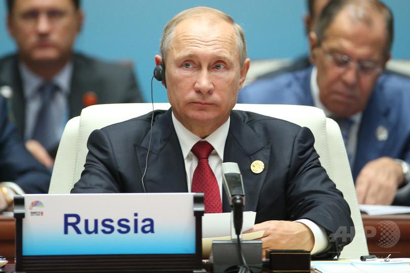 プーチン大統領、北朝鮮問題で地球規模の「大惨事も」と警告