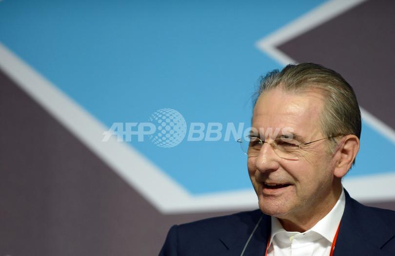 IOCロゲ会長、「竹島領有」メッセージは政治的表現との見解