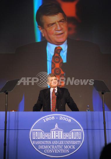 チャーリー・ウィルソン米元議員が死去、ソ連アフガン侵攻でCIAに協力