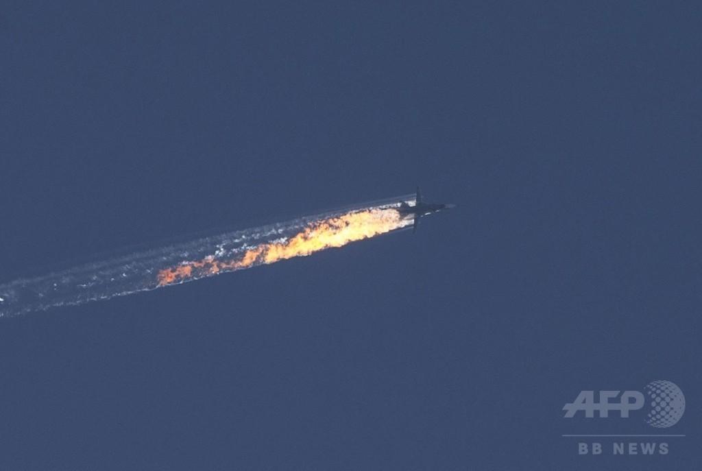 撃墜されたロシア軍機パイロット、シリアで救助 露国防相