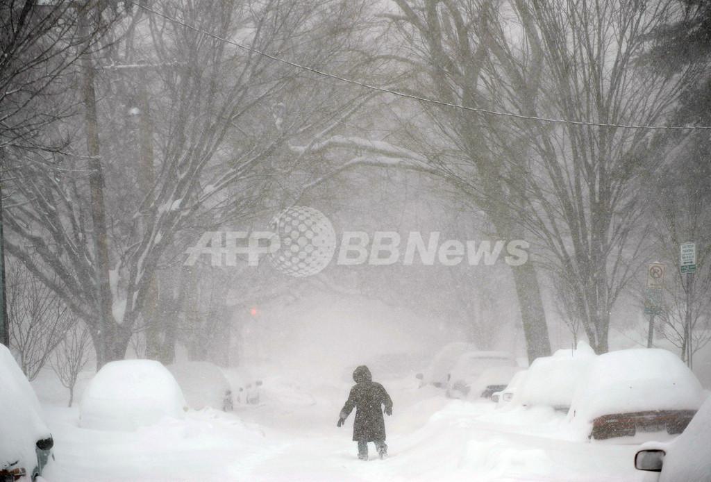米大雪で連邦政府3日連続の休業、影響は北に拡大