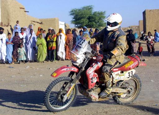 <ダカールラリー2007>二輪部門・第14ステージ エリック・アウビーヨが2人目の死亡者に - セネガル