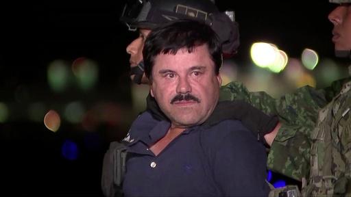動画:メキシコ麻薬王「エル・チャポ」に終身刑 米NY連邦裁