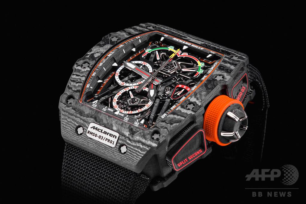 super popular dc41c 2e9f2 リシャール・ミル」SIHH新作、世界一軽い機械式クロノグラフ ...