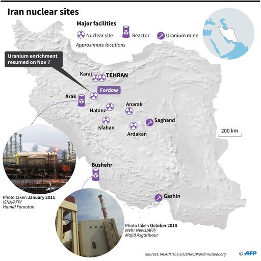 イラン、未申告の場所にウラン粒子 IAEAが検知