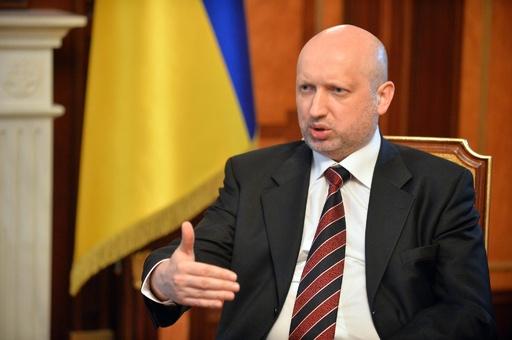 ウクライナ大統領代行、クリミアめぐる「ロシアの筋書」拒否 AFP独占取材