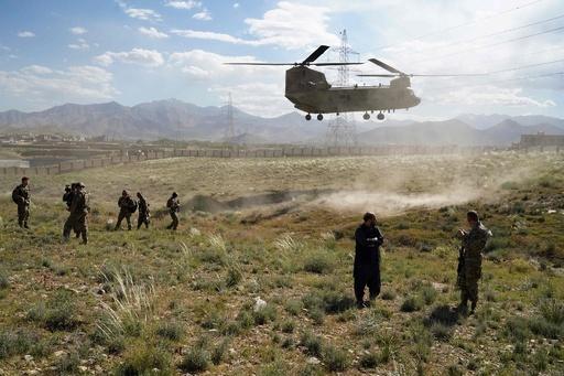 米とタリバン、軍の撤退で合意間近 情報筋