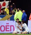 日本、終了間際の得点でフランスに勝利