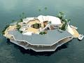 「人工浮島を5億円で」、大富豪向け新商品