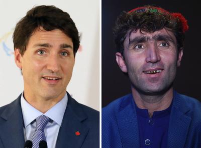 加首相にそっくり?! アフガン男性、オーディション番組で話題に
