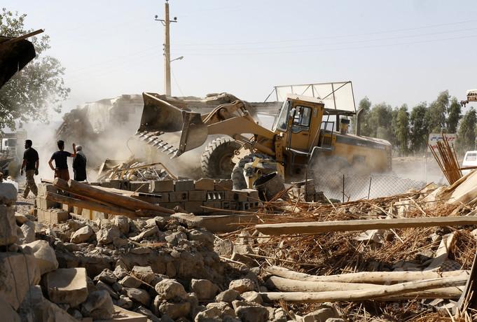 イラン地震、国内の死者数483人に