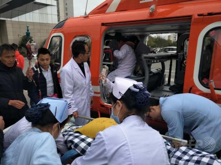 定員オーバーのバス横転、11人死亡 運営会社責任者ら5人拘留 中国・江西省
