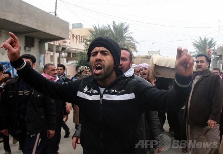 イラクのファルージャ、武装勢力ISILが掌握 新たに65人死亡
