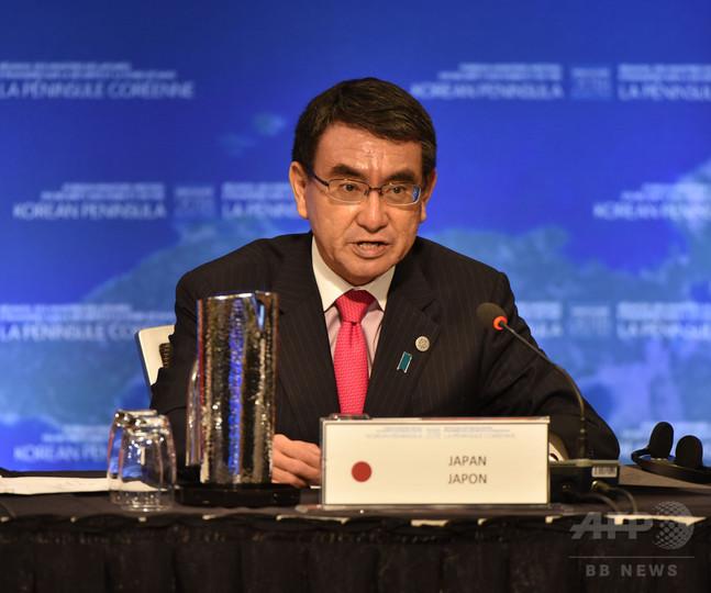 米など20か国、対北朝鮮の「海上阻止行動」強化で合意 外相会合
