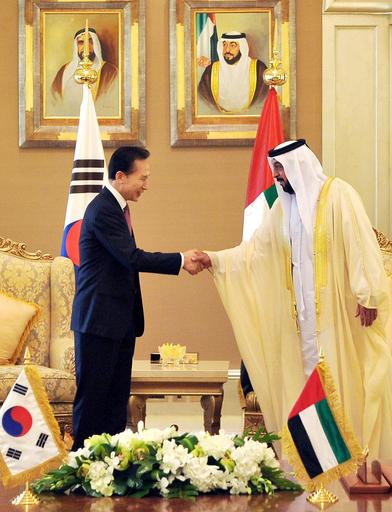 UAEの原発プロジェクト、韓国の企業連合が受注