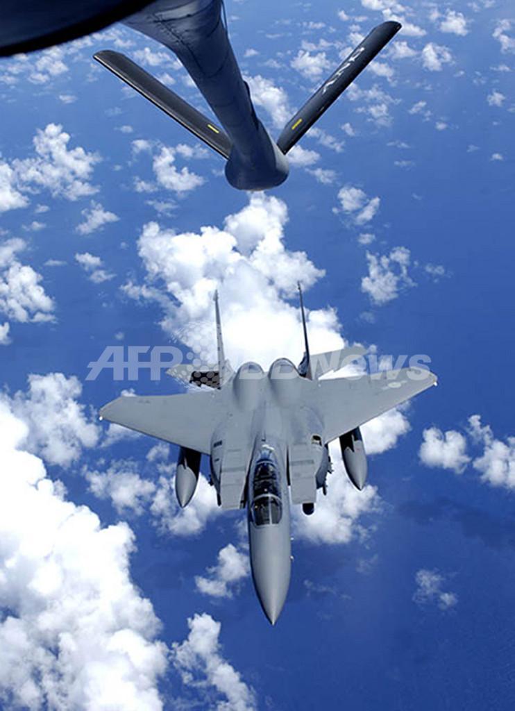 米空軍のF15戦闘機初期型の40%に欠陥が見つかる