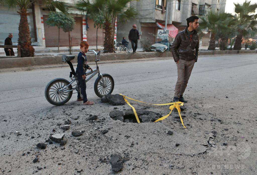 シリア内戦、死者34万人以上に 10万人以上が民間人