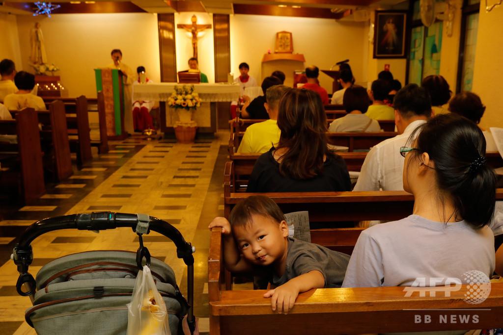 バチカンと中国の歴史的合意、香港・台湾のカトリック教徒は前向き