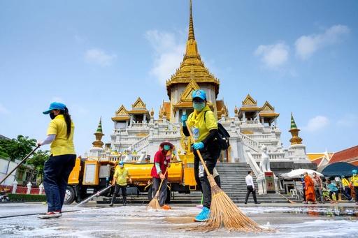 タイで新型コロナ感染急増、600人近くに 東南アジアでも大規模流行の懸念