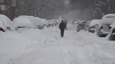 動画:カナダにも大寒波、「危険な」ほどの寒さ