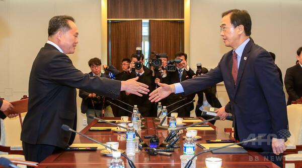 南北が閣僚級会談、米朝首脳会談へ向け「ムード醸成」
