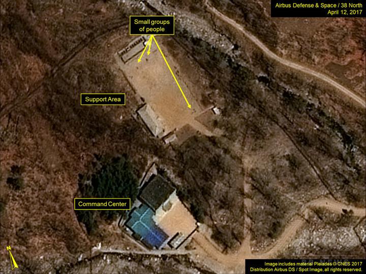 北朝鮮、核実験の「準備完了」と米シンクタンク 15日実施か