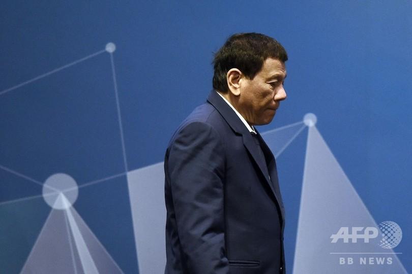 ドゥテルテ比大統領、「仮眠」でASEAN会議欠席 記者質問に「何が悪い?」