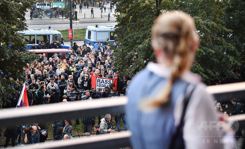 極右政党AfDの議席獲得、ドイツに広がる失望感