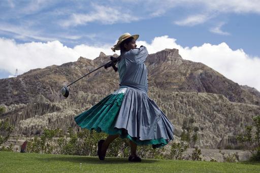 天国に一番近いゴルフコース、ボリビア