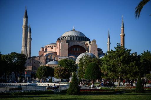 トルコ大統領、アヤソフィア博物館のモスクへの改名を示唆