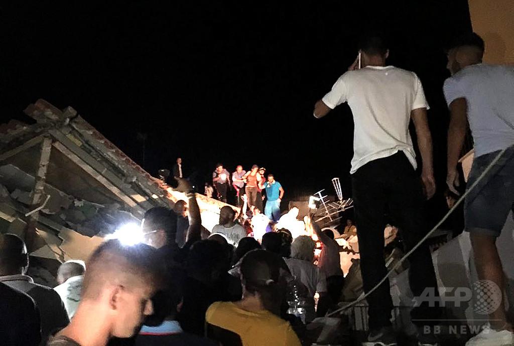 伊イスキア島で地震、1人死亡1人不明 複数の建物が損壊