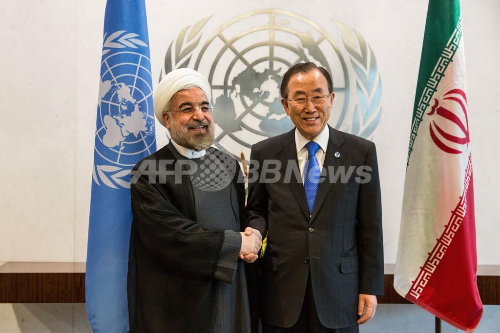 「イスラエルは核兵器を保有していると認めるべき」、イラン大統領