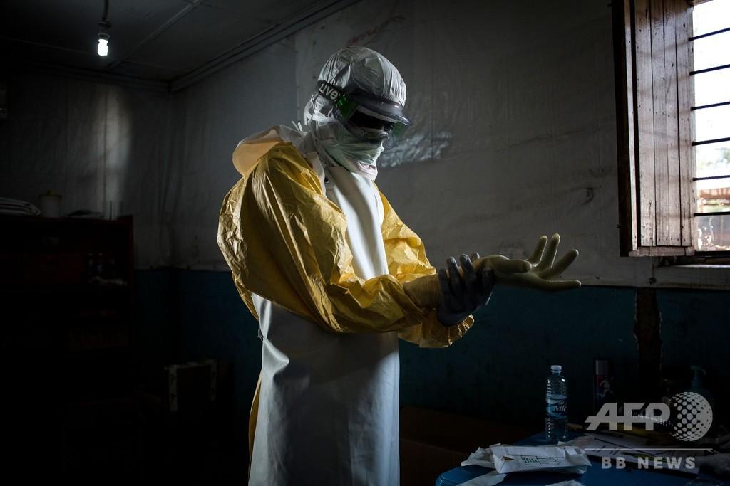 コンゴのエボラ流行、南キブ州で初の感染確認