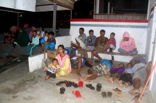 インドネシア沖でM6.9の地震、一時津波警報