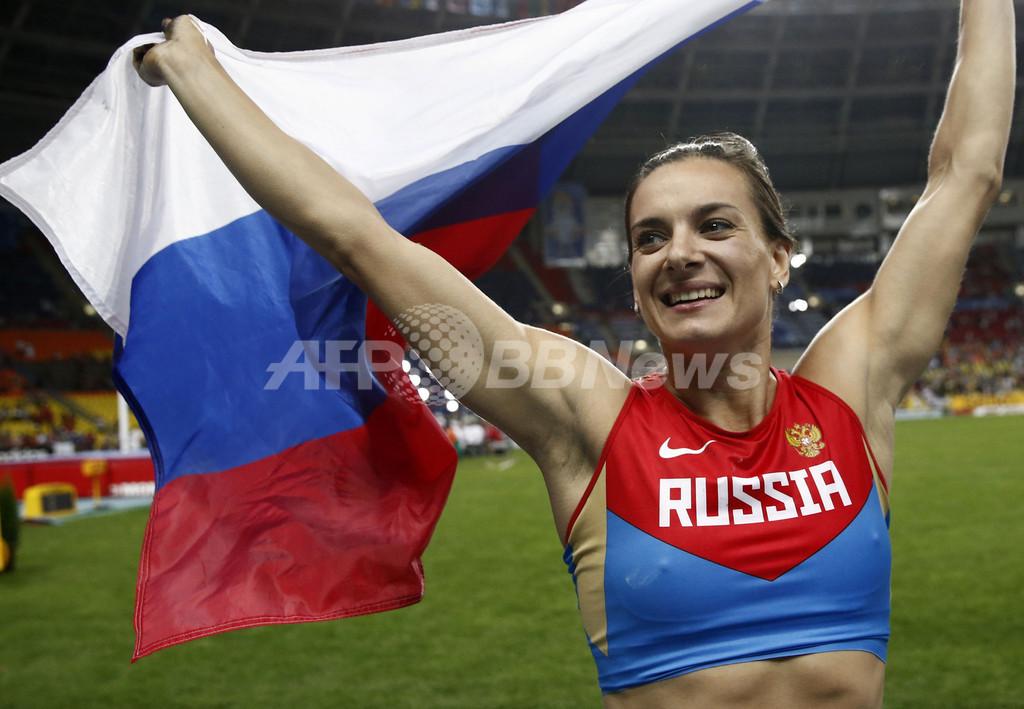 女王イシンバエワが3度目の優勝、第14回世界陸上