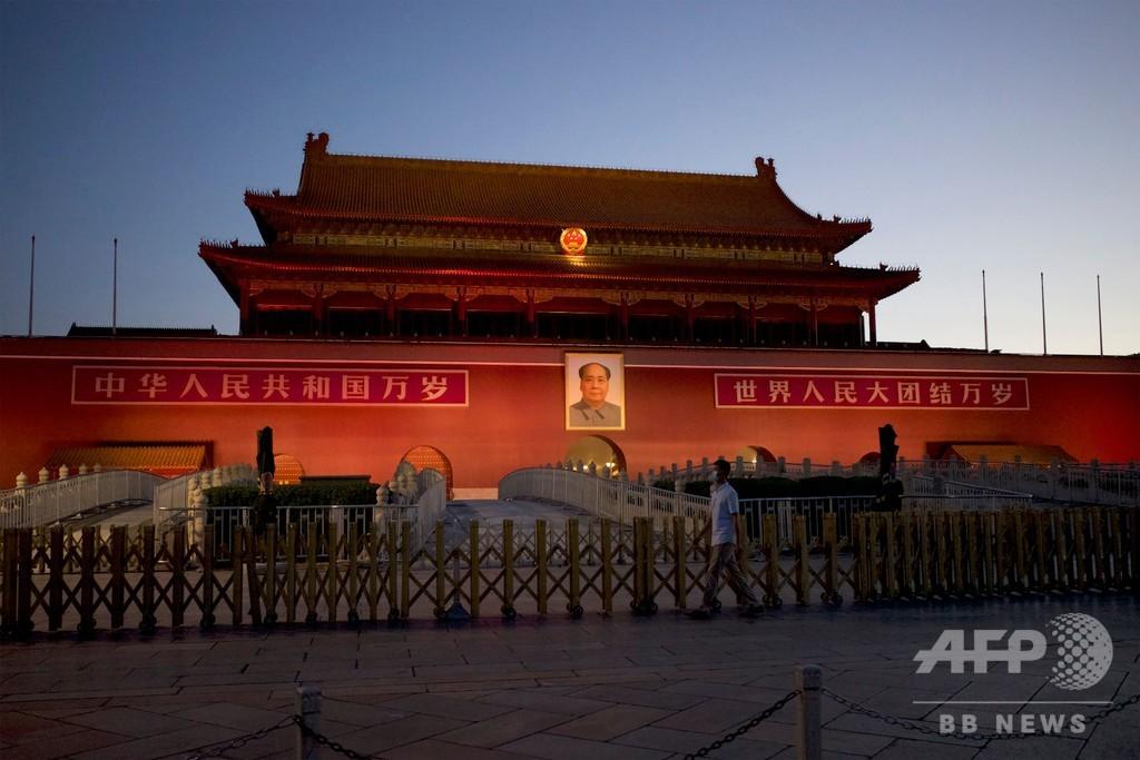 中国は天安門事件の「忘れられた日」を認めよ、台湾の蔡総統