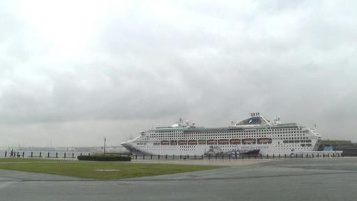 動画:クルーズ船をホテルに 東京都、五輪開催中の客室不足に対応