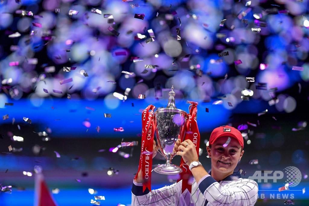 WTAファイナルズ優勝のバーティ、世界ランキング1位で今季有終