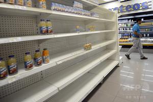 スーパー全店で客の指紋チェック導入へ、ベネズエラ
