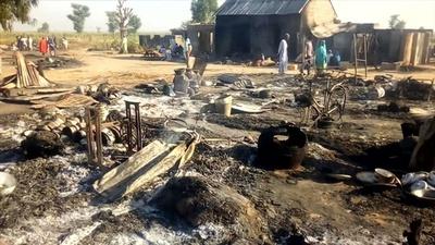 動画:ボコ・ハラムが避難民キャンプなど襲撃、12人死亡 ナイジェリア